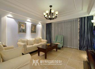 富裕型90平米美式风格客厅图片