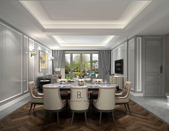 110平米三室两厅法式风格餐厅装修效果图