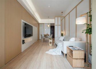 60平米日式风格客厅图