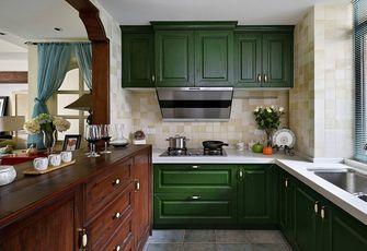 140平米四室两厅东南亚风格厨房图片