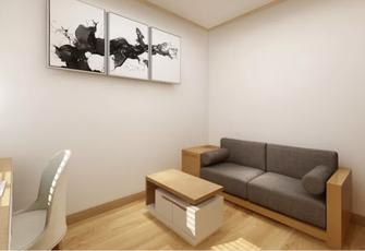 100平米三日式风格书房装修效果图