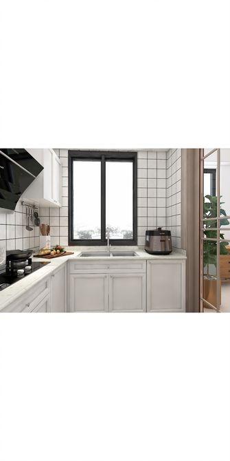 110平米三北欧风格厨房装修案例