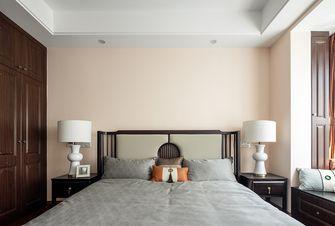 130平米三室一厅中式风格卧室设计图