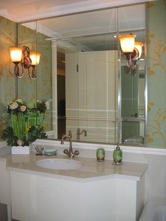 5-10万140平米别墅欧式风格卫生间浴室柜设计图