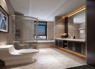 140平米三室三厅中式风格卫生间图片大全