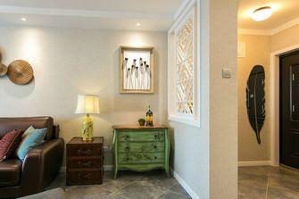 富裕型90平米三室一厅东南亚风格走廊装修效果图