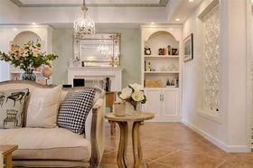100平米美式風格客廳設計圖