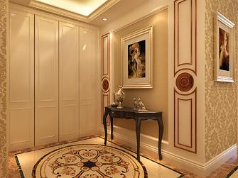 110平米三室两厅欧式风格走廊欣赏图