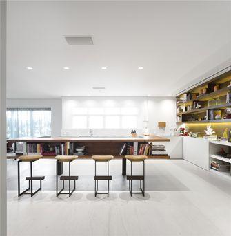 140平米三室一厅现代简约风格餐厅效果图