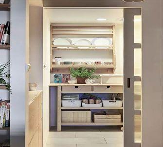 90平米一室一厅日式风格储藏室设计图