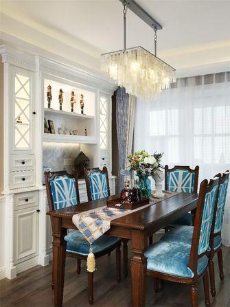 60平米一室一厅美式风格餐厅图