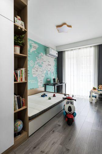 80平米三室两厅现代简约风格儿童房欣赏图