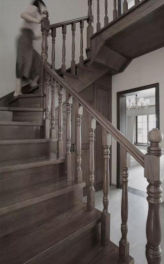 130平米复式中式风格楼梯间装修图片大全