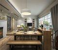 80平米现代简约风格餐厅家具图片