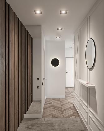 70平米一居室北欧风格玄关图