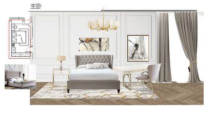 10-15万110平米混搭风格卧室图