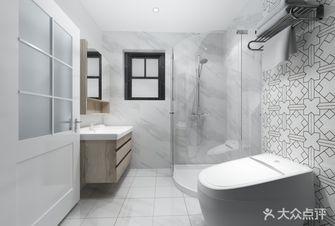 90平米三室一厅北欧风格卫生间浴室柜装修案例