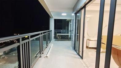 10-15万130平米三室两厅现代简约风格阳台欣赏图