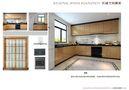 30平米以下超小户型新古典风格厨房装修效果图
