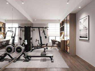 140平米四室两厅现代简约风格健身室效果图