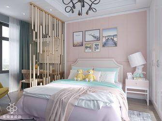 120平米三室两厅北欧风格卧室装修效果图