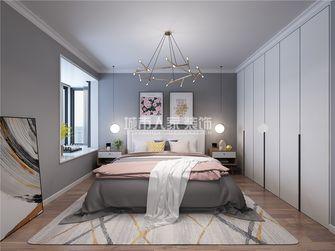 130平米三室两厅北欧风格卧室装修案例