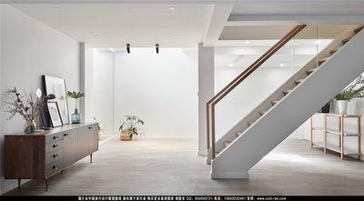 130平米三混搭风格楼梯间设计图