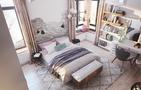 60平米一室一厅混搭风格卧室装修案例
