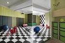 120平米三室两厅日式风格健身室效果图