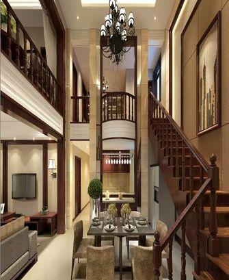 20万以上140平米复式中式风格楼梯效果图