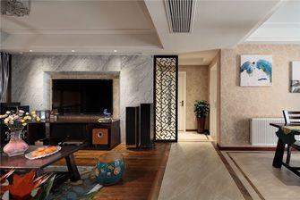 110平米三中式风格走廊图片大全