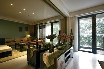 10-15万100平米三室两厅东南亚风格阳台欣赏图