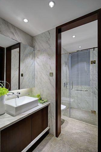 80平米北欧风格卫生间浴室柜欣赏图