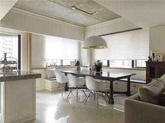 120平米三室一厅现代简约风格餐厅图片