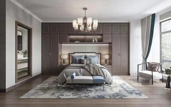 140平米四室一厅中式风格卧室图片