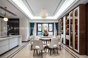140平米复式现代简约风格餐厅装修效果图