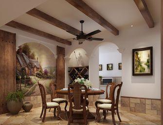 110平米田园风格餐厅欣赏图