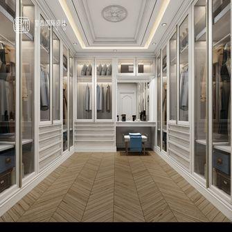 140平米别墅美式风格衣帽间效果图