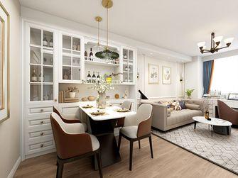 60平米公寓美式风格餐厅图片大全