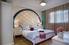 110平米三室一厅地中海风格卧室装修效果图