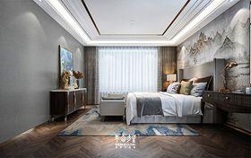 140平米復式中式風格臥室圖