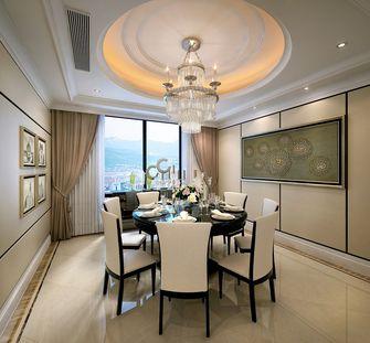 140平米三新古典风格餐厅装修效果图