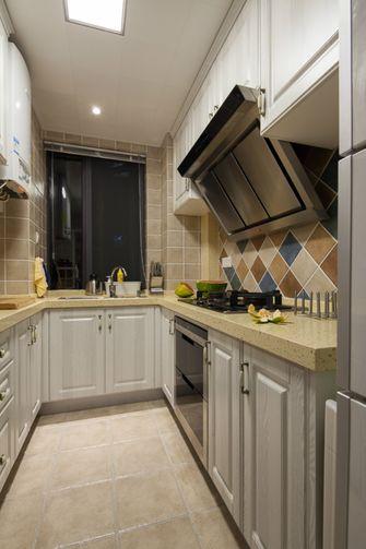 110平米美式风格厨房欣赏图