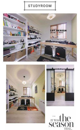 80平米三室两厅北欧风格影音室图片