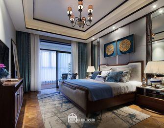 140平米三室两厅东南亚风格卧室装修案例