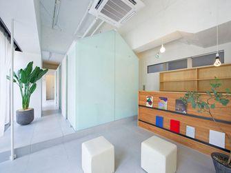 120平米三室一厅日式风格书房欣赏图