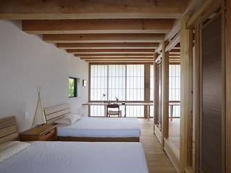 90平米公寓日式风格卧室装修效果图