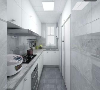 90平米三现代简约风格厨房设计图