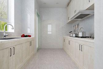 80平米现代简约风格厨房装修图片大全