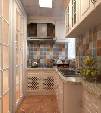 60平米一室两厅地中海风格厨房装修图片大全